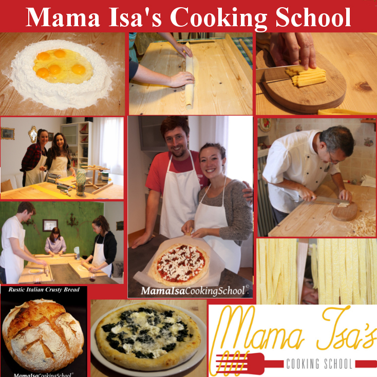 Book your 3 day cooking course in Italy with Mama Isa - cooking classes in Italy near Venice in Padua