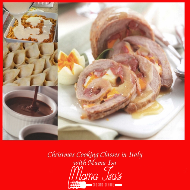 Christmas Cooking Classes in Italy with Mama Isa