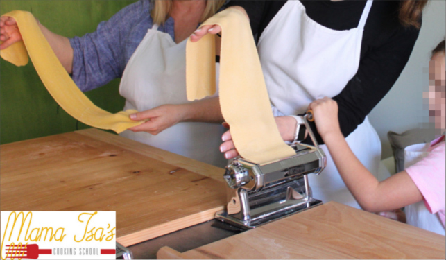Kids Cooking Classes In Italy Near Venice With Mama Isa | Pasta Workshop for families and kids