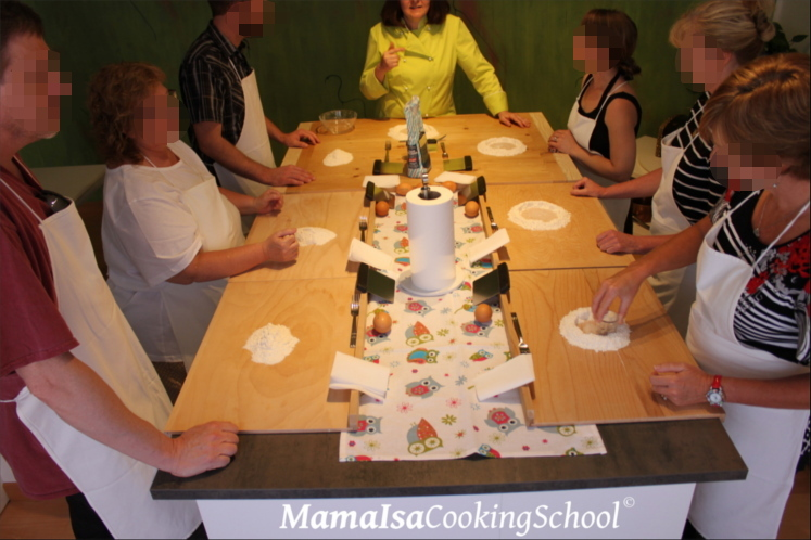 Cooking Classes near Venice in Italy with Mama Isa - pasta making