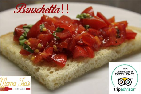 Bread Baking Classes Italy bruschetta