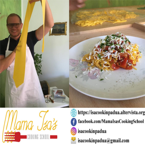Cooking Classes in Italy Venice with Mama Isa - Pasta Class