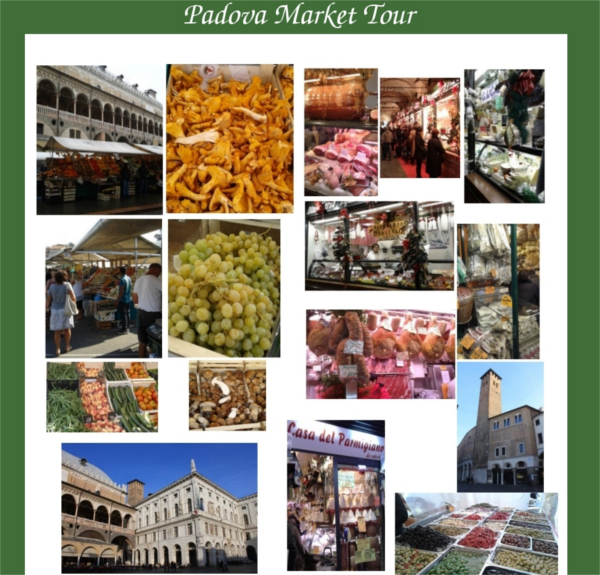 Food Market Tour Italy in Padua near Venice with Mama Isa