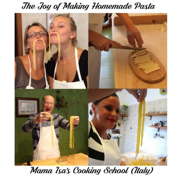 The Joy of Making Homemade Pasta at Mama Isa's Cooking Classes Venice Italy