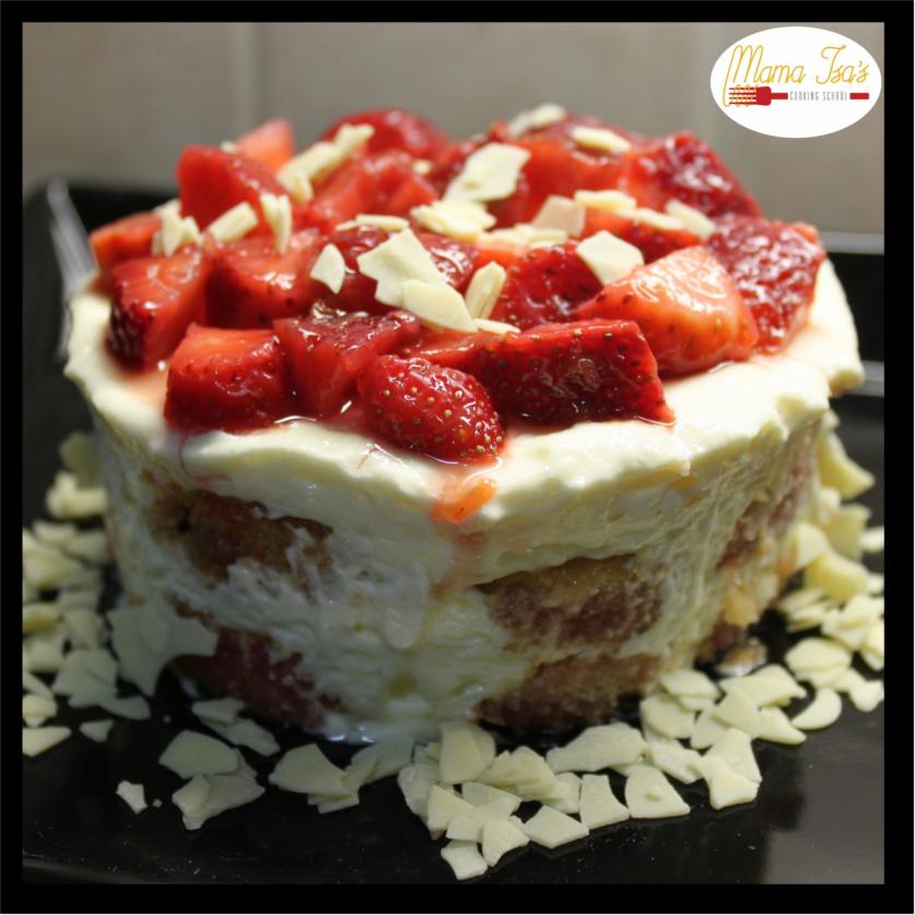 Cooking Classes in Italy Tiramisu Strawberry