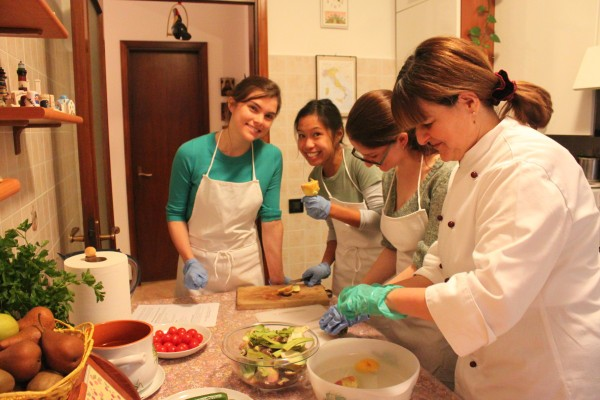 Vegetarian Cooking Classes in Italy near Venice with Mama Isa