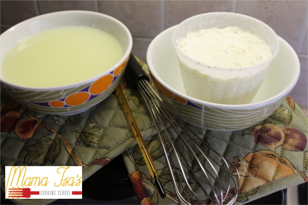 Cheese Making Cooking Classes near Venice in Padova with Mama Isa