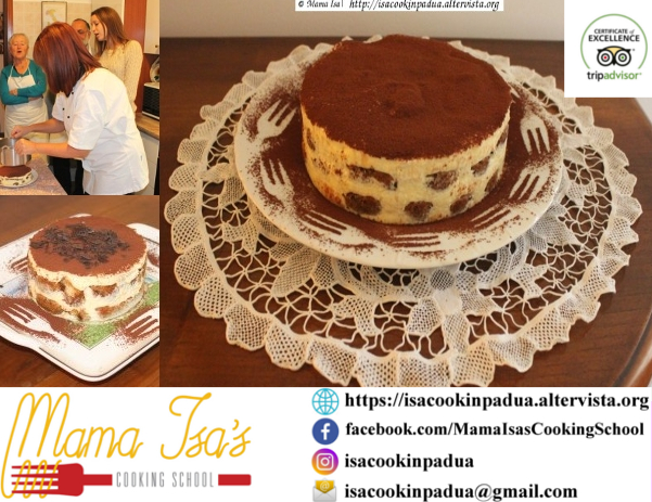 Tiramisu Classes near Venice Italy with Mama Isa