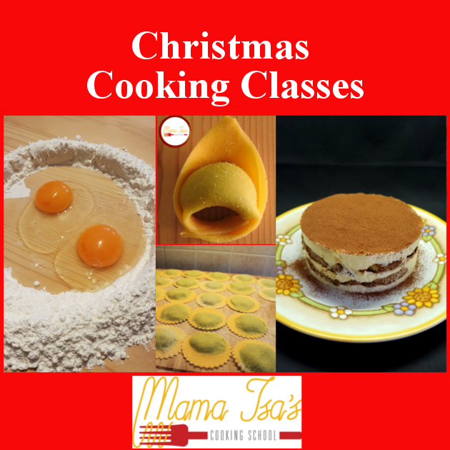A great way to celebrate Christmas in Italy: Christmas Cooking Classes in Italy with Mama Isa.