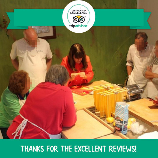 Certificate of Excellence 2018 Tripadvisor Mama Isa's Cooking School