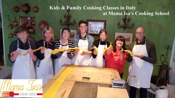 Kids and Family Cooking Classes in Italy at Mama Isa Cooking School Venice