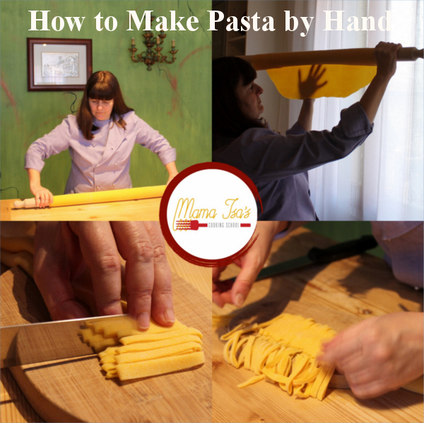 Pasta Making - 3 day Cooking Vacations in Italy near Venice Padua with Mama Isa