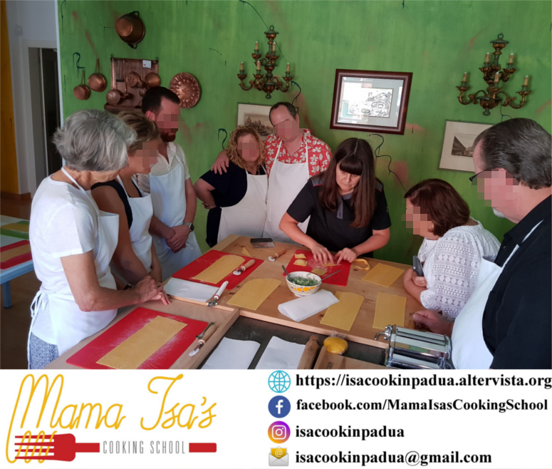 Cooking Vacations in Italy for 3 days at Mama Isa's Cooking School near Venice Veneto