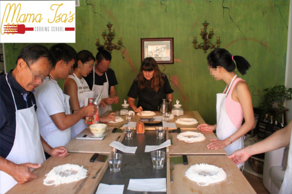 3 day Cooking Vacations in Italy with Mama Isa at Mama Isa's Cooking School near Venice Padua