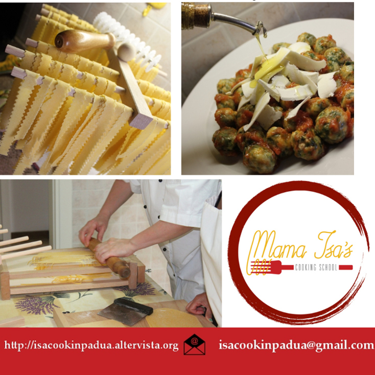 One week Cooking Vacations in Italy near Venice - Cooking Classes in Padua with Mama Isa