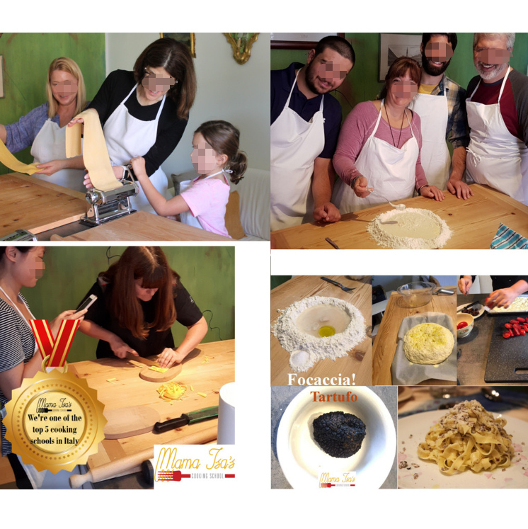 Week Cooking Vacations in Italy near Venice with Mama Isa Padua
