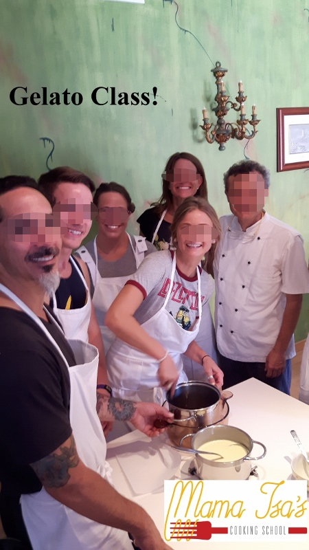 Gelato Class in Italy near Venice with Mama Isa