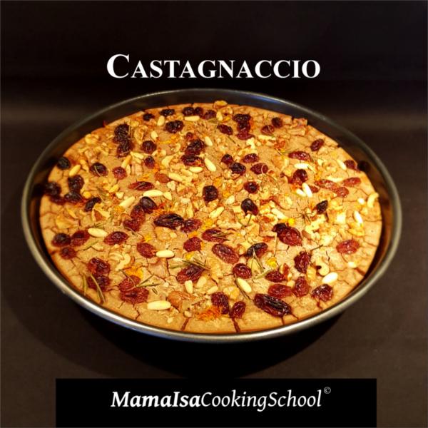 Gluten Free Chestnut Cake Castagnaccio
