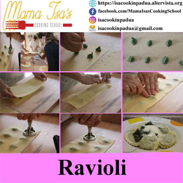 Fresh Pasta Making Class Venice Italy | Mama Isa's Cooking School