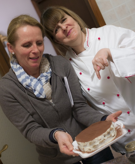 Tiramisu Class at Mama Isa's Cooking Classes in Venice area, Padova Italy