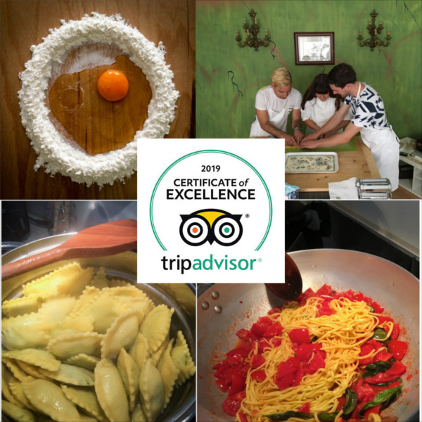 Mama Isa's Cooking School in Italy - Certificate of Excellence with Tripadvisor