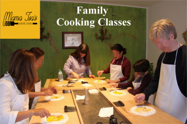Family Cooking Classes in Venice area at Mama Isa's Cooking School in Italy