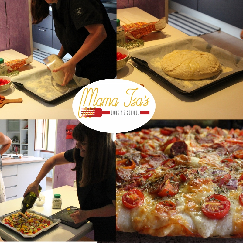 Focaccia and Bread Baking Cooking Classes Italy at Mama Isa Cooking School Venice