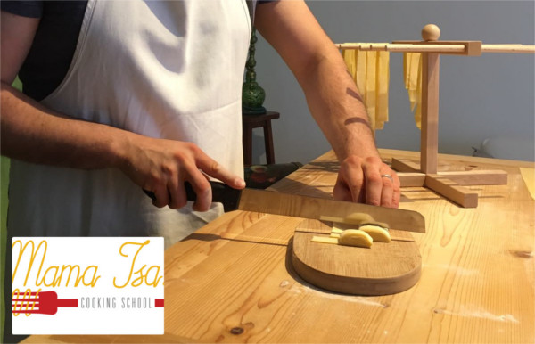 Homemade Pasta at Mama Isa Cooking Classes venice Italy