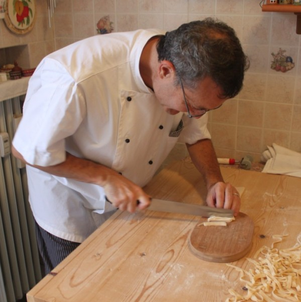 Mama Isa's assistant at Mama Isa's Cooking Classes Italy Venice