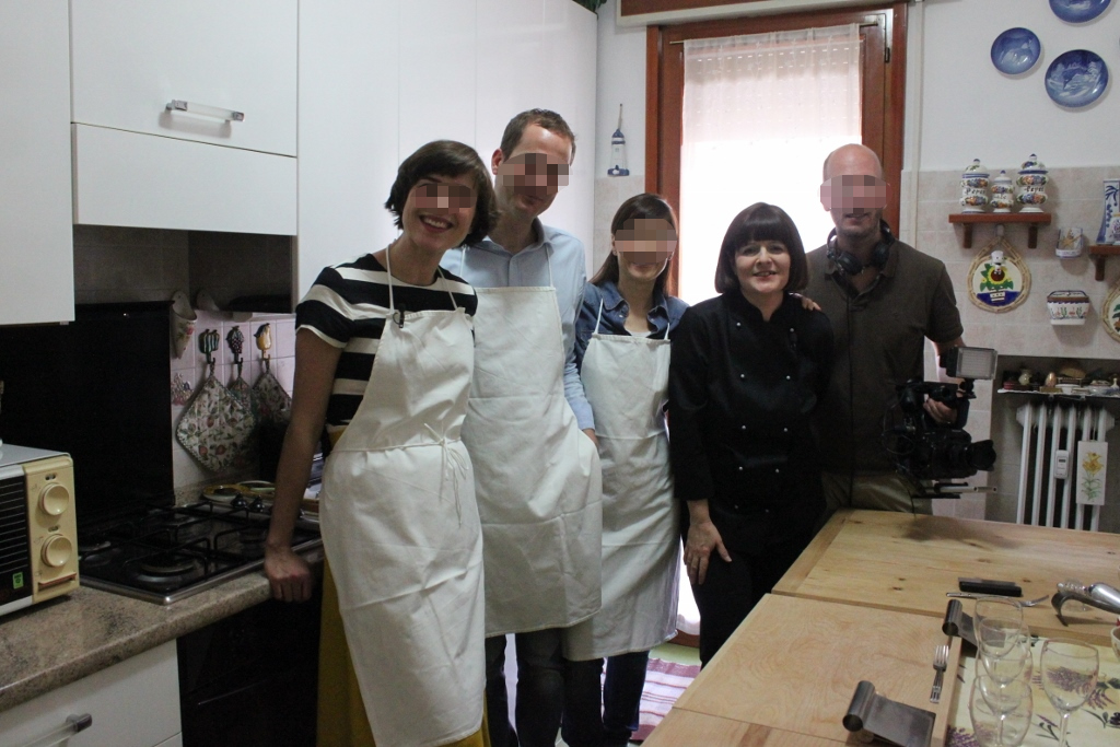 Mama Isa's Cooking School in Venice area Padova on German TV ZDF