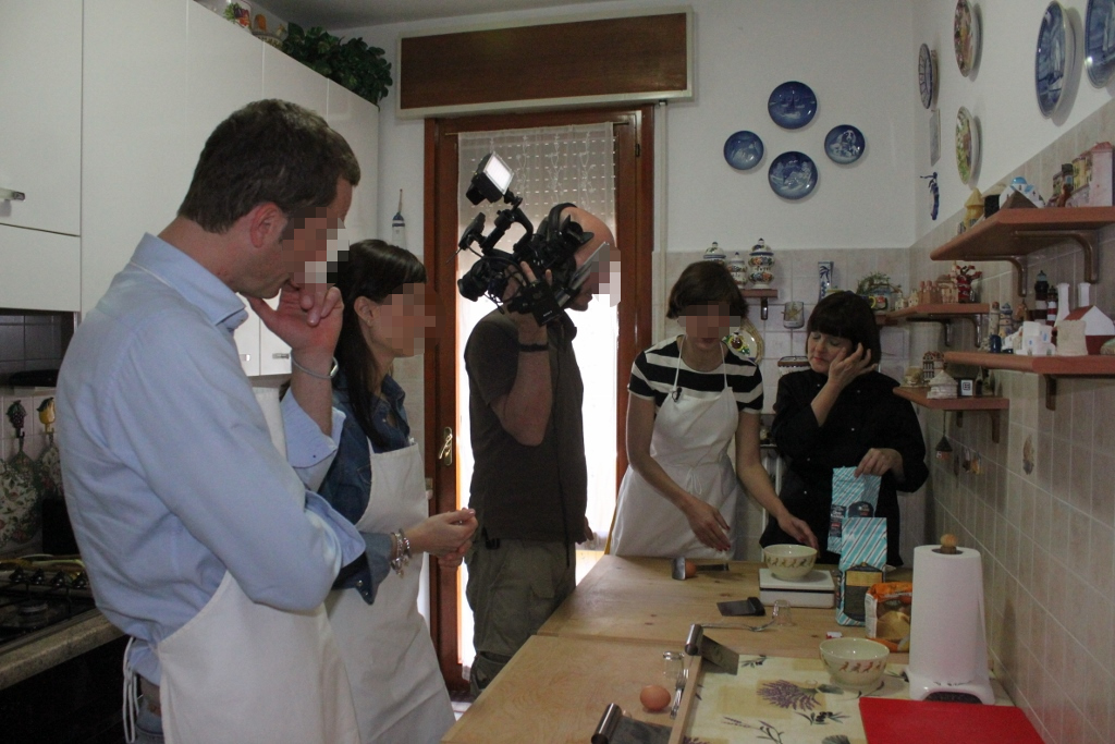 Mama Isa's Cooking School on German TV ZDF