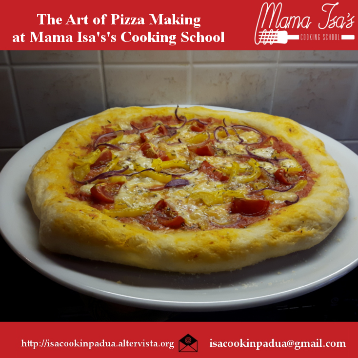 Pizza Class in Venice at Mama Isa's Cooking School Cooking Classes Italy