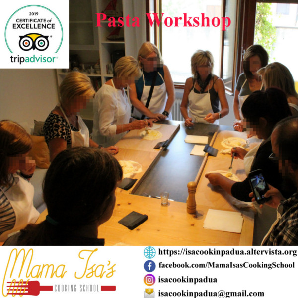 Pasta Workshops in Italy | Mama Isa's Cooking School in Venice Italy