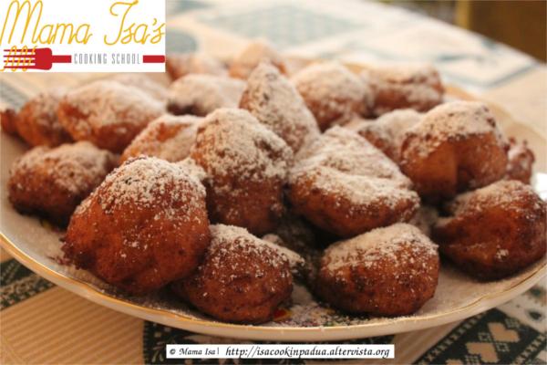 Mama Isa's Fritters in Venetian Style - Frittelle alla veneziana