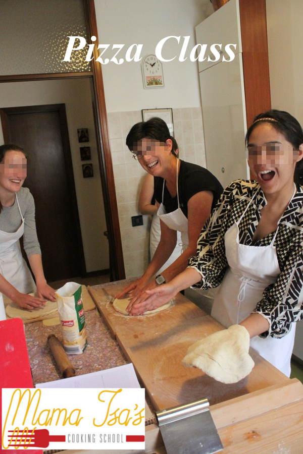 Pizza Class at Mama Isa's Cooking School in Italy near Venice in Padua