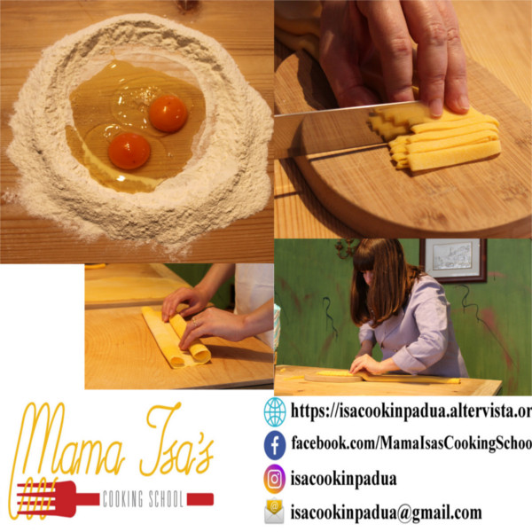 One Week Cooking Course at Mama Isa's Cooking Classes near Venice Padua Italy