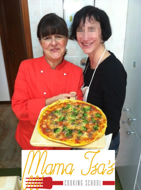 Pizza Class in Italy with Mama Isa