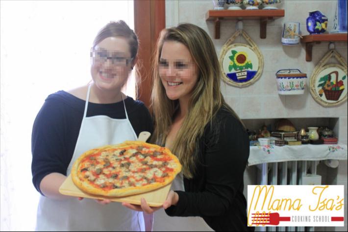 Pizza Class in Italy near Venice with Mama Isa