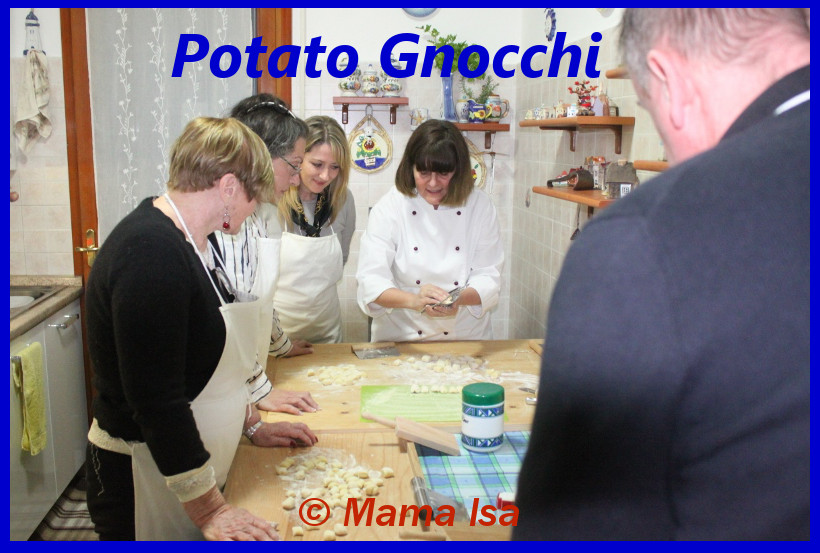 Potato Gnocchi Class in Italy with Mama Isa