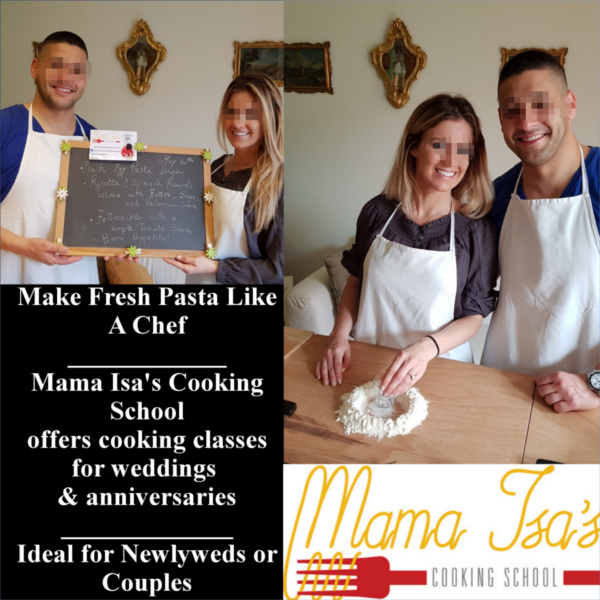 Romantic Cooking Classes in Italy near Venice with Mama Isa