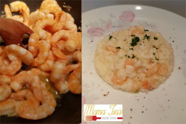 Cooking Classes in Italy - how to make a good and creamy risotto