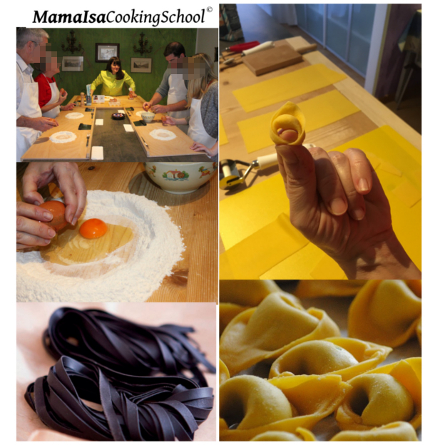 Cooking Classes in Venice about the Fresh Pasta in Italy at Mama Isa's Cooking Classes Italy Venice