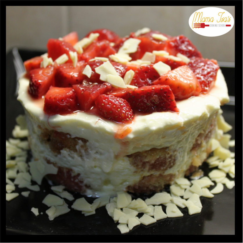 Cooking Classes in Italy Tiramisu Strawberry