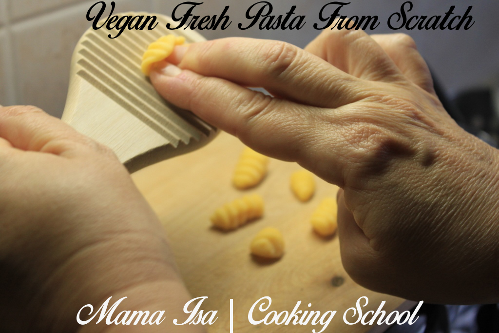 Vegan Pasta Workshop | Vegan Cooking Classes in Italy near Venice