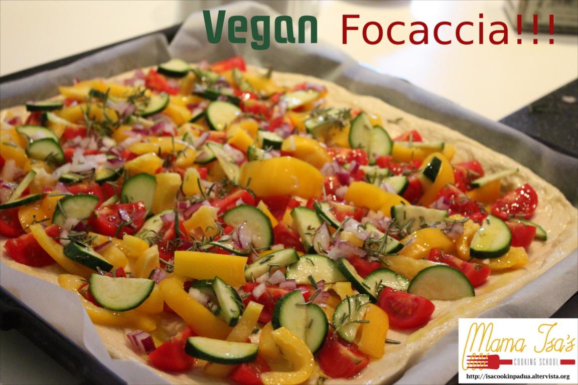 Vegan Cooking Classes in Italy Venice - Vegan Focaccia