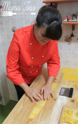Chef Isa in Italy at Mama Isa's Cooking School