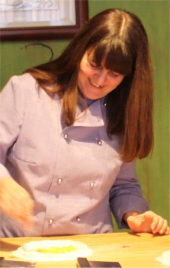 Chef Isa at Mama Isa's Cooking School