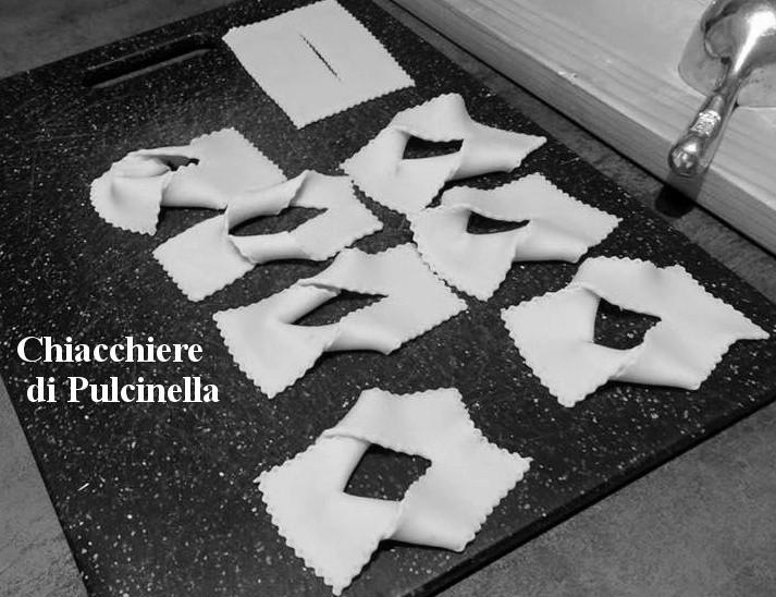 Vegan Antipasto Chiacchiere di Pulcinella