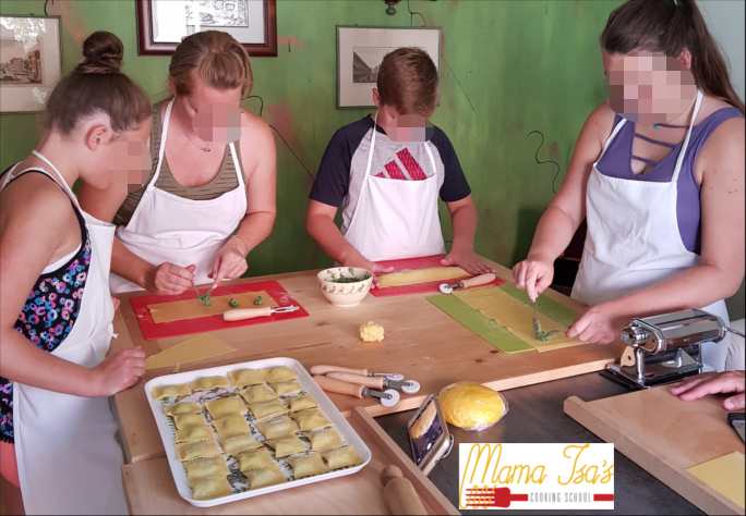 Family Cooking Classes in Italy