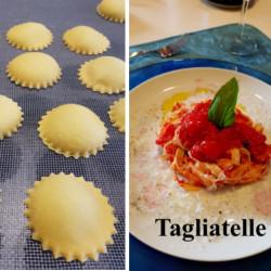 Fettuccine Ravioli Pasta Class